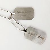 las mujeres personalizadas aniversario collar de titanio / regalo / fiesta / diario