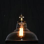 Max 60W Tradicional/Clásico / Cosecha / Cuenco Mini Estilo Pintura Lámparas Colgantes Dormitorio / Habitación de estudio/Oficina / Hall