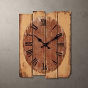 """H15 """"Country Style Khaki Relógio de parede"""