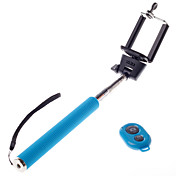 inalámbrico bluetooth auto retrato monopod polo stick ajustable para teléfonos Mobie andriod iphone con control remoto