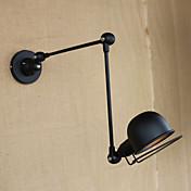 AC 100-240 40W E12/E14 Moderno/ Contemporáneo Electrochapado Característica for Bombilla Incluida,Luz Ambiente Lámpara con brazo flexible