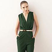 las mujeres Joanne gatito de la vendimia / partido / trabajo / aleación de imitación de cuero ocasional de la correa de la cintura