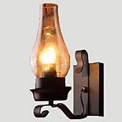 AC 100-240 60 E26/E27 Rústico/Campestre Vintage Retro Pintura Característica for Mini Estilo,Luz hacia arriba Luz de pared