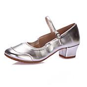 Zapatos de baile-No Personalizables-Mujer-Latino Claqué Moderno Zapatos de Swing-Tacón Bajo-Lentejuelas-