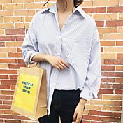 Signo heygirl heige fresco otoño coreano sistema elegante camisa tiras finas
