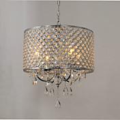Lámparas Araña ,  Tradicional/Clásico Cromo Característica for Cristal MetalSala de estar Dormitorio Comedor Habitación de