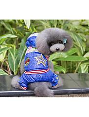 犬 コート 犬用ウェア カジュアル/普段着 ブリティッシュ ブルー
