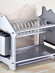 1 Cozinha Aço Inoxidável Organizadores de talheres