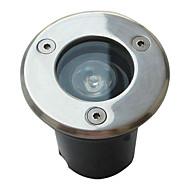 vandtæt 1w 85lm 3000-3500K varm hvid lys medført oversvømmelse lampe (110-240V)