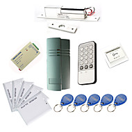Single Door Controller-Kits mit IR-Tastatur Elektro Bolt, 10 EM-ID Card, Power Supply)