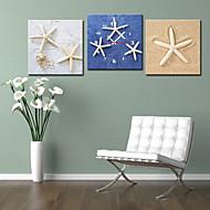 moderni tyyli kiinteä seinäkello kankaalle 3kpl