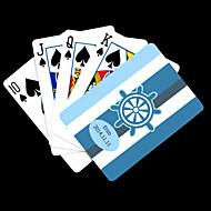 Presente personalizado Padrão Blue Anchor Listrado Playing Card para Poker