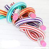 Potlood Pen Potloden Pen,Rubber Vat Zwart Ink Kleuren For Schoolspullen Kantoor artikelen Pakje 1
