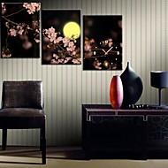 Plum Blossom Under The Moon Kello Canvas 3kpl
