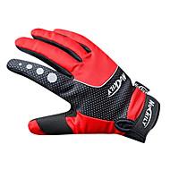 NUCKILY® Спортивные перчатки Перчатки для велосипедистов Велоперчатки Сохраняет тепло Водонепроницаемый Ветронепроницаемый Анти-скольжение