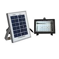 2 watt solární panel bílé sluneční soustava protipovodňových lampa osvětlení s 30 vedla