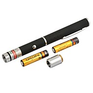 lt-8883 verstelbare brandende groene pen vorm laser pointer (4mw.532nm.2xaaa.black)