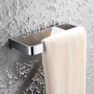 HPB®,Pyyheripustin Kromi Seinään asennettu 20*8.6cm(7.9*3.4 inch) Messinki Moderni