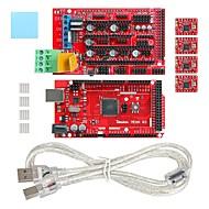 geeetech 3D εκτυπωτή Mega 2560 + ράμπα 1.4 επεκτείνει ασπίδα + a4988 stepper σετ οδηγού