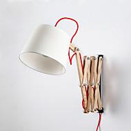 Estilo Mini Lâmpadas de Braço Móvel,Tradicional/Clássico E26/E27 Madeira/Bambu