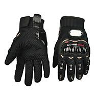Motorcykel handsker Fuld Finger Polyutrethane/Bomuld/Nylon/ABS M/L/XL Rød/Sort/Blå