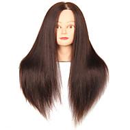 szintetikus haj vegyes állati szalon női manöken fej make-up