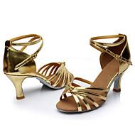 Aanpasbaar - Voor dames - Dance Schoenen (Zwart/Roze/Rood/Multi-Kleur/Fuchsia/Anders) - met Aangepaste  hak - en Latijn/Dans Sneakers