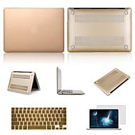 """cores sólidas PVC de alta qualidade caso difícil com protetor de tela e flim de teclado para MacBook Air 13.3 """""""