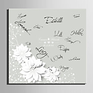 Allekirjoitus kehykset ja levyt - Puutarha-teema - Norsunluu