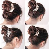 Etelä-Korean korkea-asteen koristeet kammat hiukset lukko timantti helmi mennä satunnainen tyyli