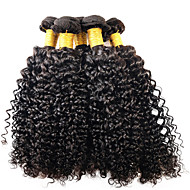 Tissages de cheveux humains Cheveux Brésiliens Bouclé 12 mois 1 Pièce tissages de cheveux