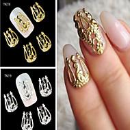 Nail Jewelry - Punk - Sormi - Metalli - 2 - 10PCS