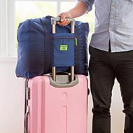1 Pça. Bolsa de Viagem Organizador de Mala Prova de Água Á Prova-de-Pó Durável Dobrável Portátil para Organizadores para ViagemTecido