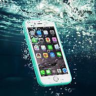 Para iPhone 8 iPhone 8 Plus iPhone 7 iPhone 7 Plus iPhone 6 iPhone 6 Plus Case Tampa Impermeável Transparente Corpo Inteiro Capinha Côr