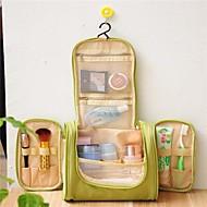1枚 旅行かばん 洗面用具バッグ 化粧ポーチ 防水 携帯式 のために 小物収納用バッグ クロス-グレー グリーン ブルー 海軍
