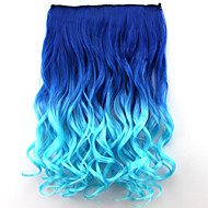 Popular New Style Double Color Curly Synthetic Hair Extention