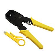 ferramenta rewin® três uso da linha telefônica cabo de rede modular plug alicates ferramenta 4p / 6p / 8p cravamento