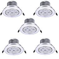 7W Lumini Recessed Spot Încastrat 7 LED Putere Mare 750 lm Alb Cald Alb Rece AC 85-265 V 5 bc