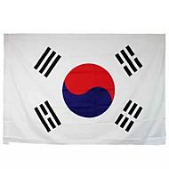 Uusi 3x5 jalat iso etelä-korea lippu polyesteri Korean kansallinen bannerin sisustus (ilman lipputangon)