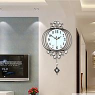 Inovador / Lanterna / Outros Moderno/Contemporâneo Relógio de parede,Florais/Botânicos / Cenário / Casamento / Família Vido / Metal63cm x