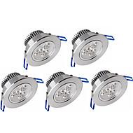 Ywxlight® 5pcs 3w 300-350lm suport luminos de panouri cu led-uri luminoase led lumina plafonului