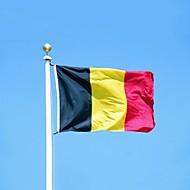 Belgia lippu bannerin 90 * 150cm roikkuu lippu Belgia sisustuksessa Belgia flag (ilman lipputanko)