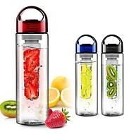 Frucht infundieren infuser Shaker Wasser Flasche Tasse Zitrone Erdbeer Saft auslaufsichere Trommel Flasche Tasse 700ml