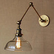 AC 220-240 40 E26/E27 Moderne/Contemporain Bronze Fonctionnalité for Ampoule incluse,Eclairage d'ambiance Chandeliers murauxApplique