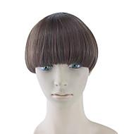 cheveux humains bruns bouclés crépus tisse chignons 3017