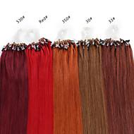 neitsi 16 인치 마이크로 반지 인간의 머리카락 확장을 반복하는 것은 인간의 머리카락 25g 반지