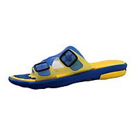 Αντρικό Παντόφλες & flip-flops Ανατομικό Σιλικόνη Άνοιξη Καλοκαίρι Φθινόπωρο Causal Περπάτημα Ανατομικό Επίπεδο ΤακούνιΚίτρινο Καφέ Μπλε