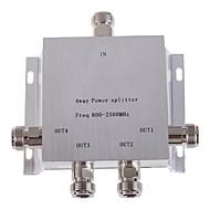 4 voies n femelle diviseur de puissance séparateur 800-2500MHz pour téléphone mobile amplificateur de signal répéteur