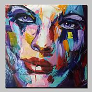 современной абстрактной ручной росписью маслом рисунок на холст стены искусства с натянутой рамы готовы повесить