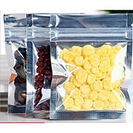 7.7 * 10cm pequeno saco de sacos de embalagem de alimentos com o julgamento saco plástico de vedação folha de alumínio